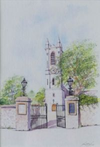 THE PARISH CHURCH, DONAGHADEE by John Bell at Ross's Auctions