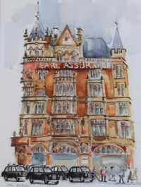 THE PEARL ASSURANCE BUILDING, BELFAST by Cathy Henderson at Ross's Auctions