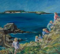 AFTER THE PICNIC by Coralie de Burgh Kinahan at Ross's Auctions