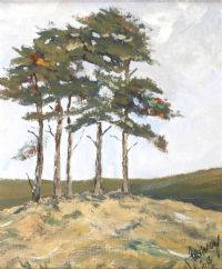 FIVE PINES by John Halliday at Ross's Auctions