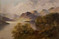 HIGHLAND LOCH by Montgomery Ansell at Ross's Auctions