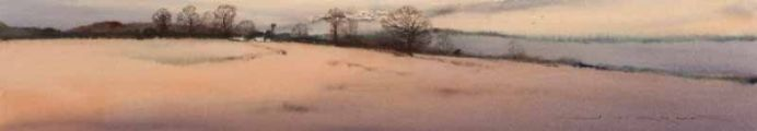 WINTER LANDSCAPE by Gerard Mitchell at Ross's Auctions