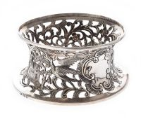 IRISH SILVER DISH RING at Ross's Auctions