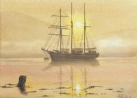 QUIET ANCHORAGE by John Goodchild at Ross's Auctions
