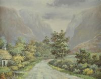 THE GAP OF DUNLOE, KERRY by Ray Summer at Ross's Auctions