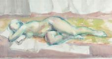 FEMALE NUDE STUDY by Barbara Love Smith at Ross's Auctions