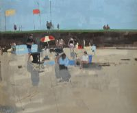 ON CASTLEGREGORY BEACH, KERRY by John Morris at Ross's Auctions