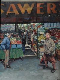 SAWERS by Hector McDonnell ARUA at Ross's Auctions