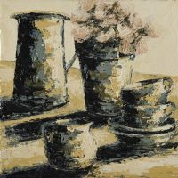 STILL LIFE by Yvonne Moore at Ross's Auctions