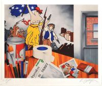 MY STUDIO, 1969 by Robert Ballagh at Ross's Auctions