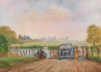 AS IT WAS, BANN FOOT TRANSPORT by Jackie Connolly at Ross's Auctions