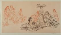 FEMALE STUDIES by Sir William Russell Flint RA at Ross's Auctions