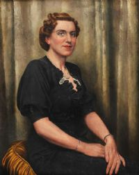 PORTRAIT OF A LADY by A.L. Grace at Ross's Auctions