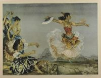 THE DANZA MONTA by Sir William Russell Flint RA at Ross's Auctions