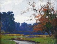 THE POND, BELVOIR PARK by Hans Iten RUA at Ross's Auctions