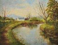 THE RIVER LAGAN by Harry Smyth at Ross's Auctions