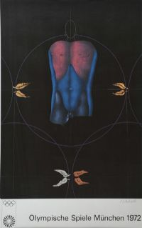 DARK BODY LEAVES by Paul Wunderlich at Ross's Auctions