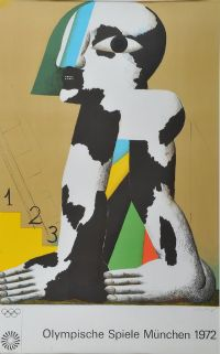 MAN 123 by Horst Antes at Ross's Auctions