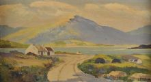 NEAR FALCARRAGH, DONEGAL by David Livingston at Ross's Auctions