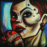 NEW YORK DOLL by Terry Bradley at Ross's Auctions