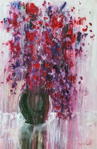FLOWER STUDY I by Angelina Raspel at Ross's Auctions