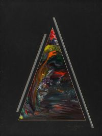 PYRAMID ABSTRACT by Kenneth Legge at Ross's Auctions