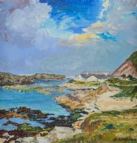 BALLINTOY HARBOUR by H. Loughran at Ross's Auctions