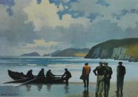 LANDFALL, SLEA HEAD, KERRY by John Skelton at Ross's Auctions