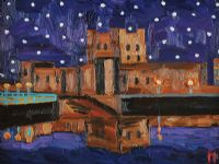CARRICKFERGUS CASTLE by Michael Sparkes at Ross's Auctions