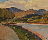 ROSTREVOR by Henry Echlin Neill RUA at Ross's Auctions