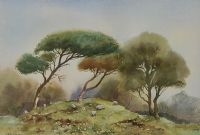 SHEEP GRAZING, FAIRY HILL by James McConnell at Ross's Auctions