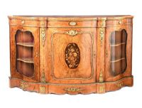 VICTORIAN WALNUT CREDENZA at Ross's Online Art Auctions