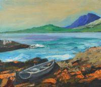 FISHING BOAT, WEST OF IRELAND by Anne Tallentire at Ross's Auctions