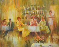 AFTERNOON TEA by G. Adams at Ross's Auctions
