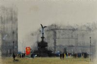 PICCADILLY CIRCUS by Anthony Klitz at Ross's Auctions