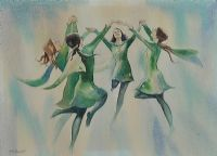 IRISH DANCERS by James McConnell at Ross's Auctions