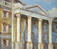TRINITY COLLEGE, DUBLIN by Stuart Williams at Ross's Auctions