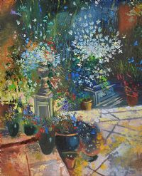 SUMMER FLOWERS by Russian School at Ross's Auctions