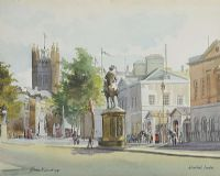 WHITEHALL, LONDON by Eileen M Smith at Ross's Auctions