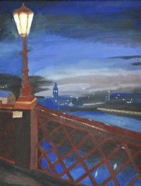 THE QUEEN'S BRIDGE, BELFAST by Marion Collett at Ross's Auctions