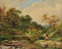 IN BOLTON WOODS by David Bates at Ross's Auctions