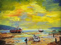 DRY DOCK; ALMOST! by Jackie Connolly at Ross's Auctions