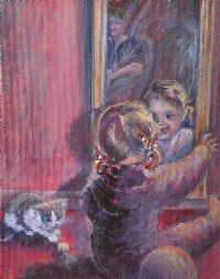 PEEK A BOO by Roberta Hunter at Ross's Auctions