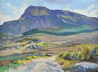 A WILD SPRING DAY ON MUCKISH by Anne Primrose  Jury HRUA
