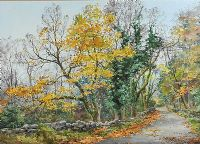 AUTUMN LEAVES by Frank Egginton RCA FIAL at Ross's Auctions