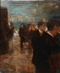 THE GATHERING by Noel Murphy at Ross's Auctions