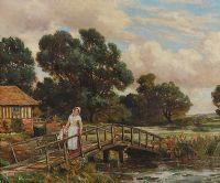 THE WATERMILL by Sir Herbert Hughes Stanton RA at Ross's Auctions