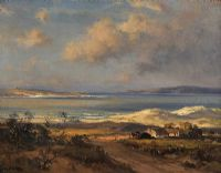 SANDHILLS NEAR GORTAHORK, DONEGAL by Frank McKelvey RHA RUA at Ross's Auctions