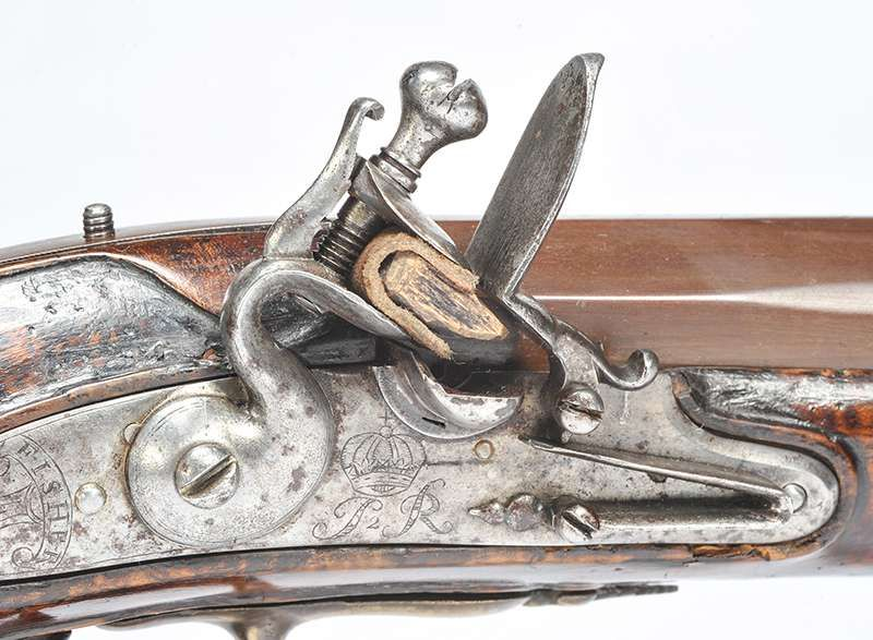 Highly Important 17th Century Flintock Carbine Bearing James II Cypher at Ross's Online Art Auctions