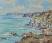TOWARDS DUNLUCE by Henry J. Foy at Ross's Auctions